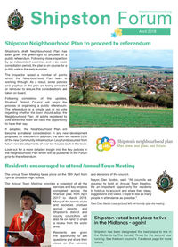 Shipston Forum - April 2018