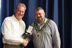 Local flooding expert scoops award