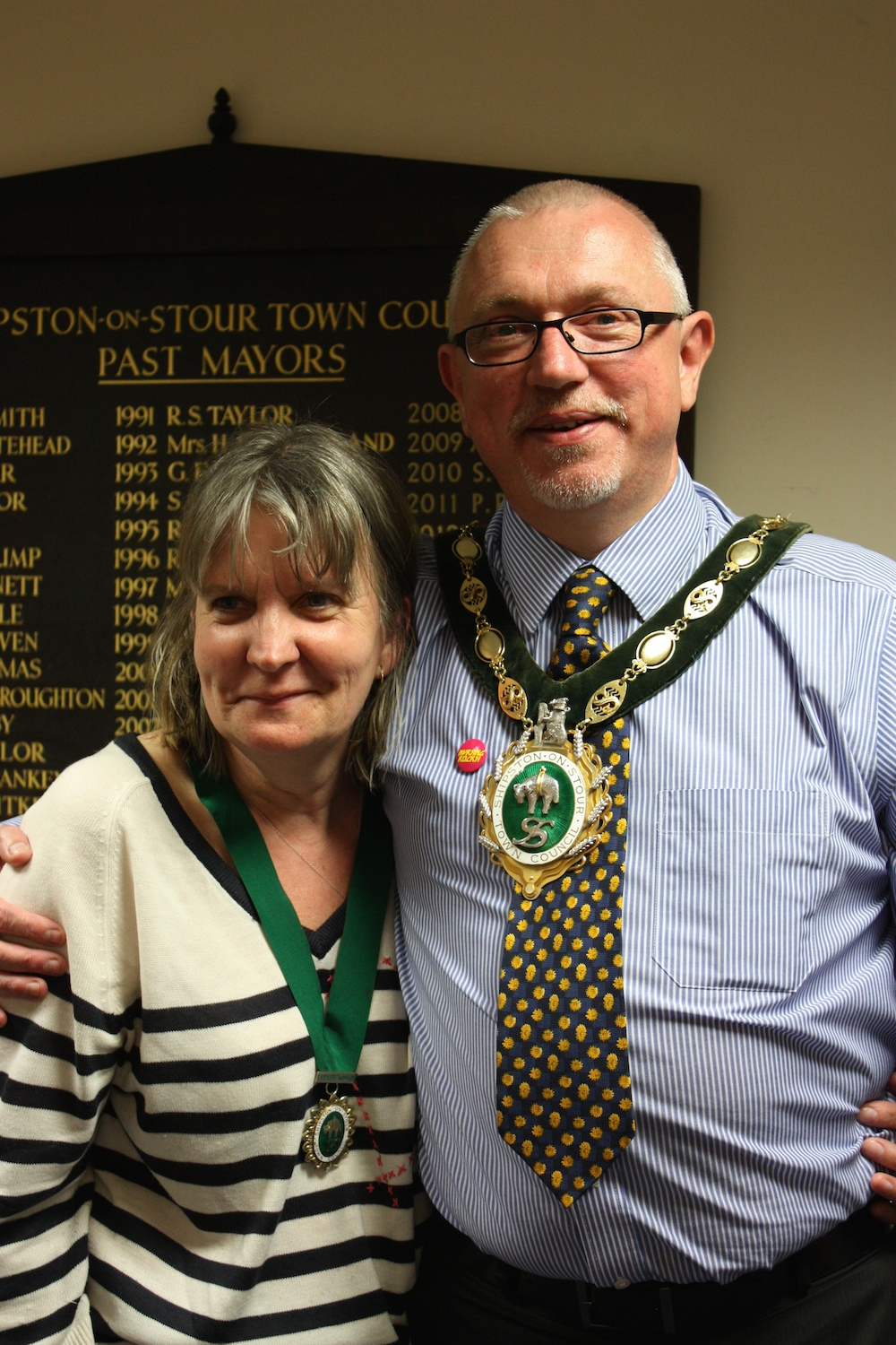 Shipston's new Mayor and Deputy Mayor